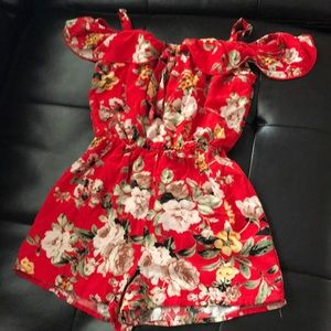 Other - Girls size 8 romper. Worn 3 times.
